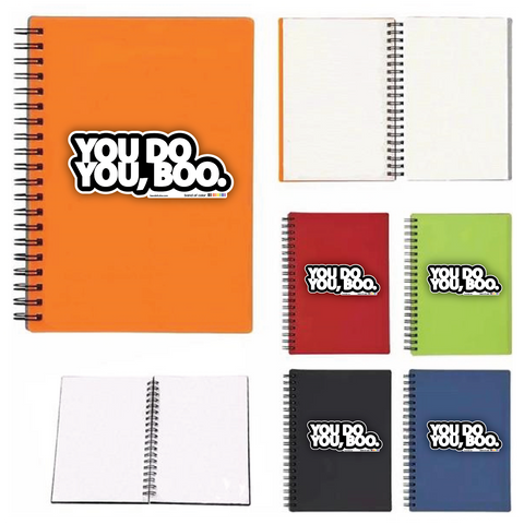 YOU DO YOU, BOO wire-bound notebooks