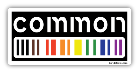 common sticker