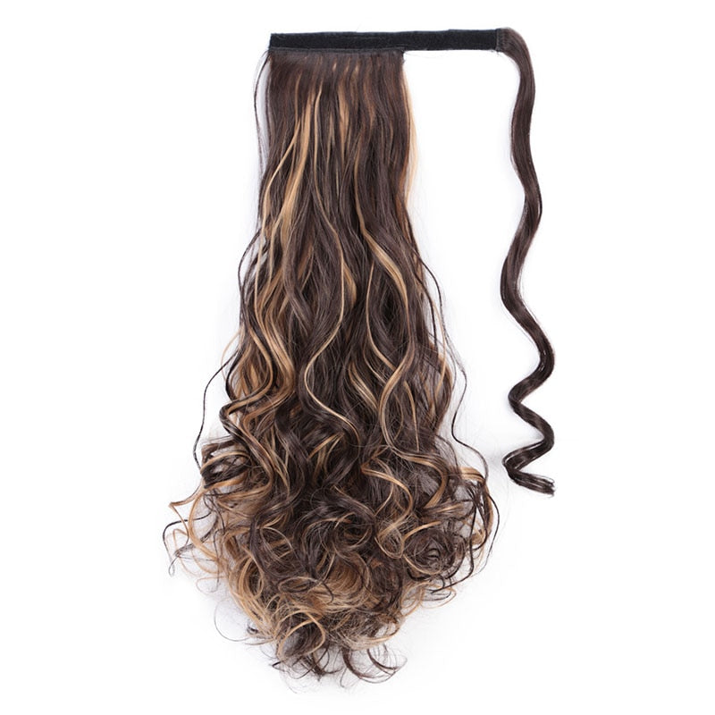 Ponytail Hair Extension - Curled - 22""