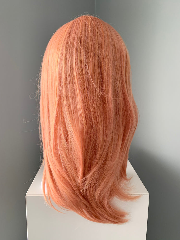 """Cora"" - Coral Peach Synthetic Wig"