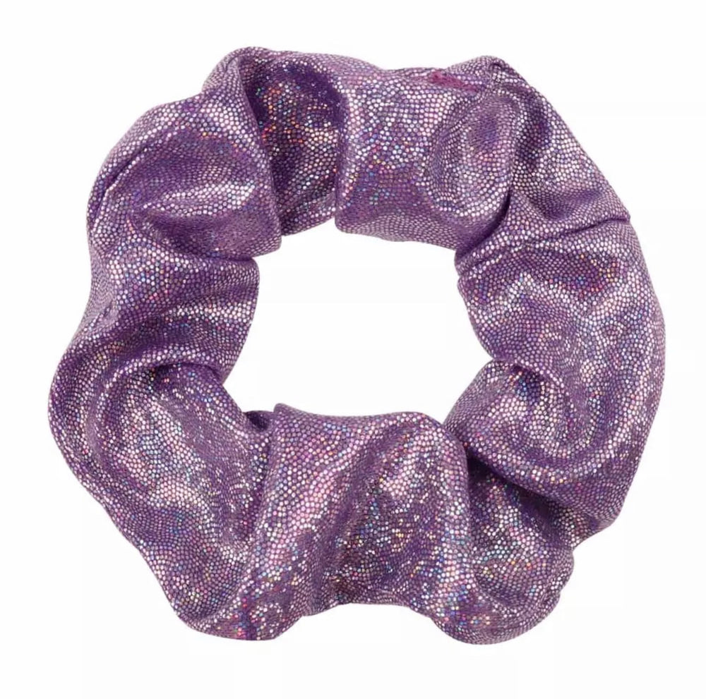 Purple - Shimmer Scrunchie