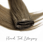 Hand Tied Weft Extensions