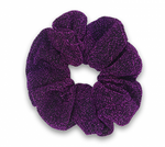 Royal Purple - Glitter Scrunchie