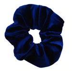 Royal Blue - Velvet Scrunchie