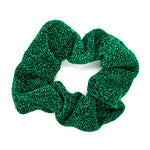 Green - Glitter Scrunchie