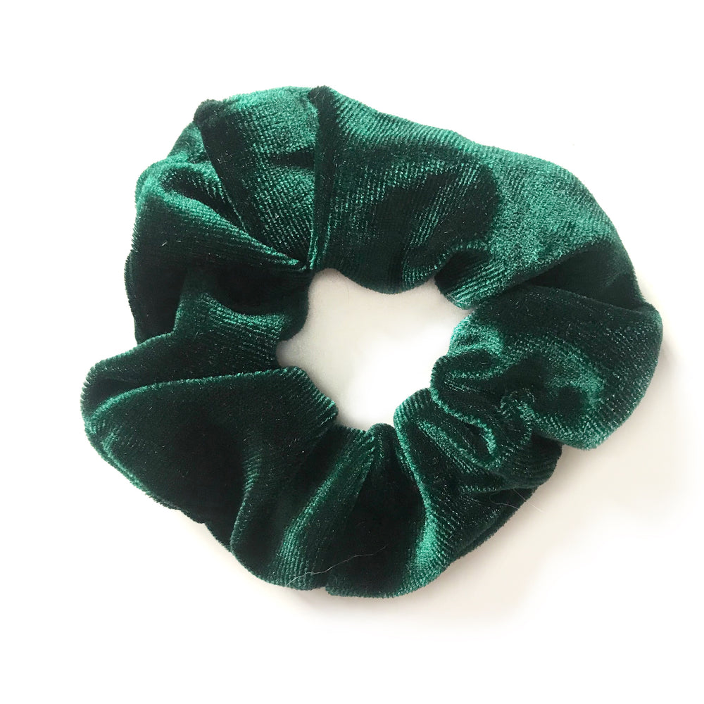 Green - Velvet Scrunchie
