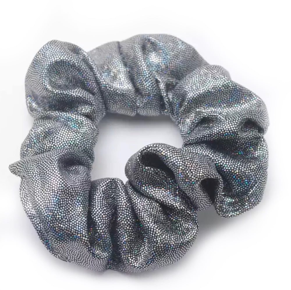 Gunmetal Grey - Shimmer Scrunchie