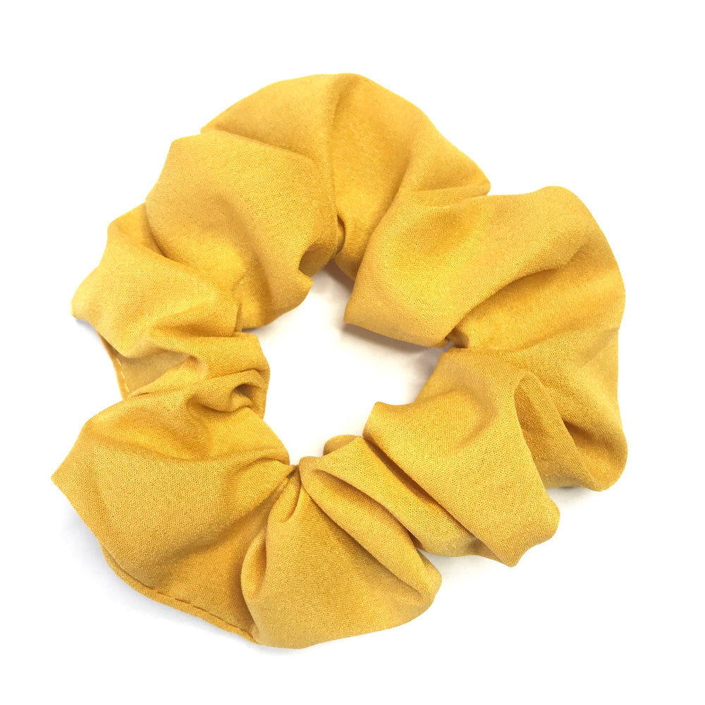 Golden Yellow - Chiffon Scrunchie