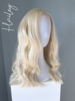 """Hailey"" - Blonde Body wave Lace Front Wig"