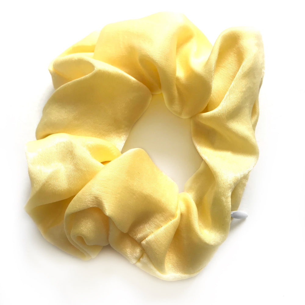 Yellow - Secret Zipper Scrunchie
