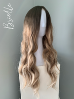 """Brielle"" - Rooted Blonde Body Wave Lace Front Wig"
