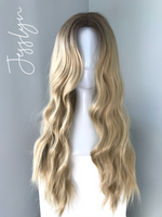 """Jesslyn"" - Blonde Body Wave Synthetic Wig"