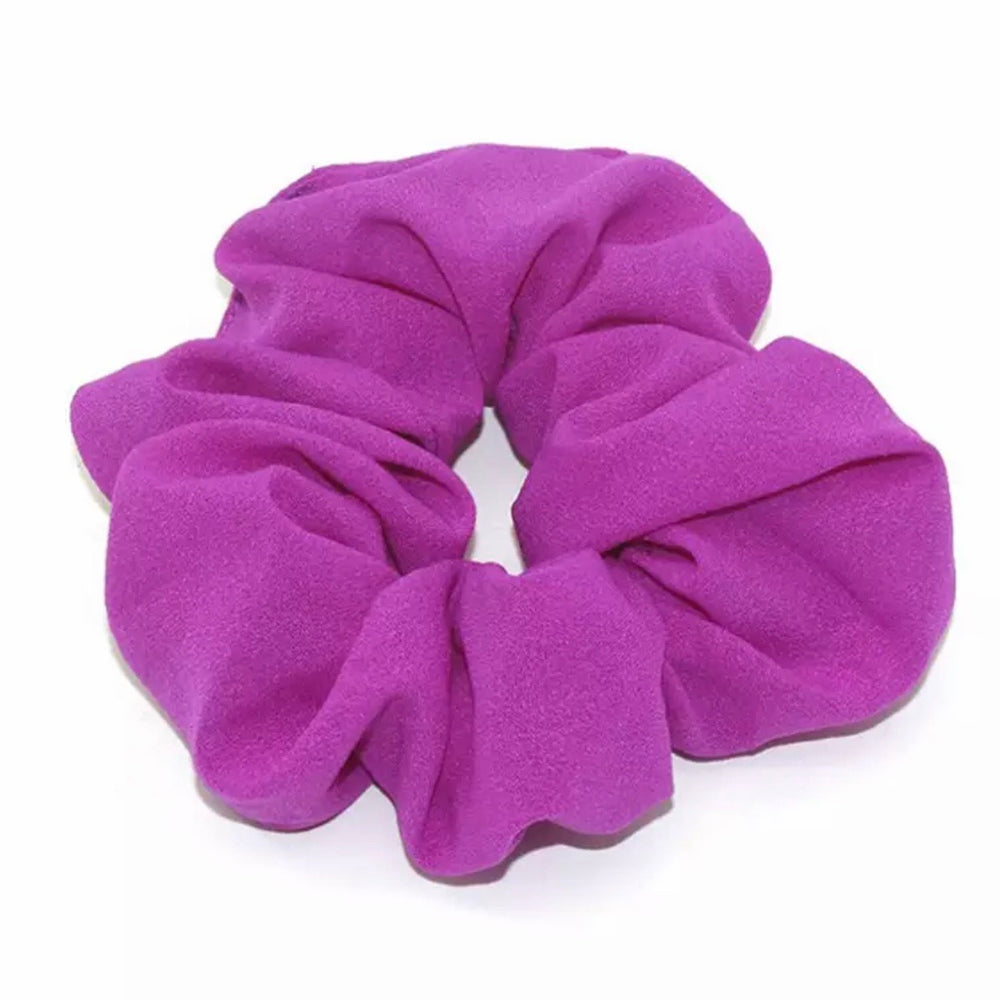 Neon Purple - Chiffon Scrunchie