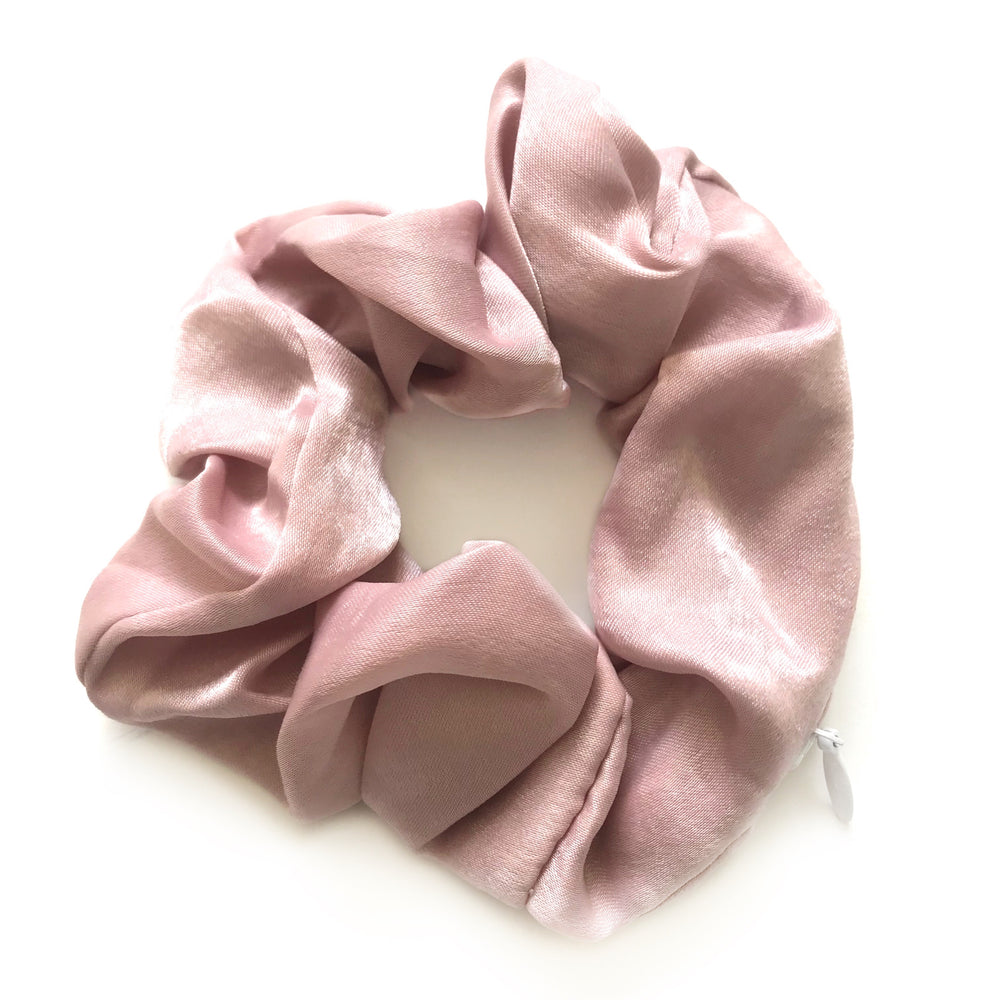 Pink - Secret Zipper Scrunchie