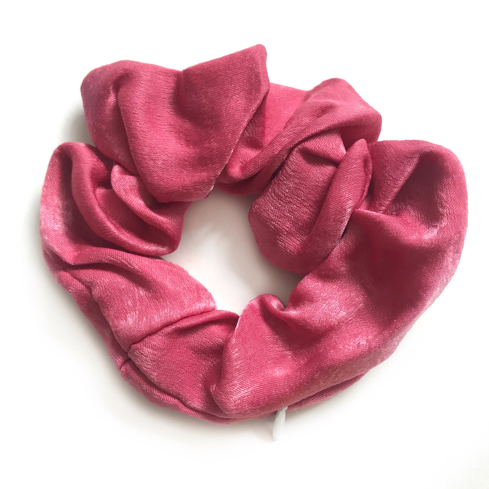 Fuchsia Pink - Secret Zipper Scrunchie