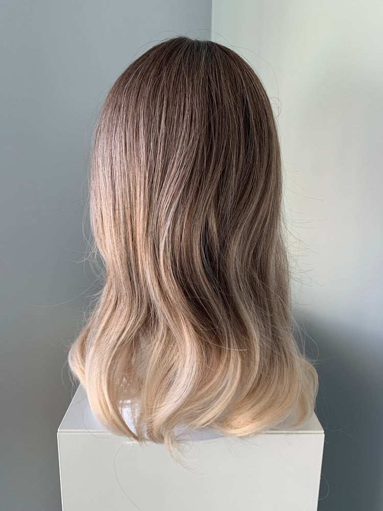 """Harper"" - Blonde Ombre Synthetic Wig"