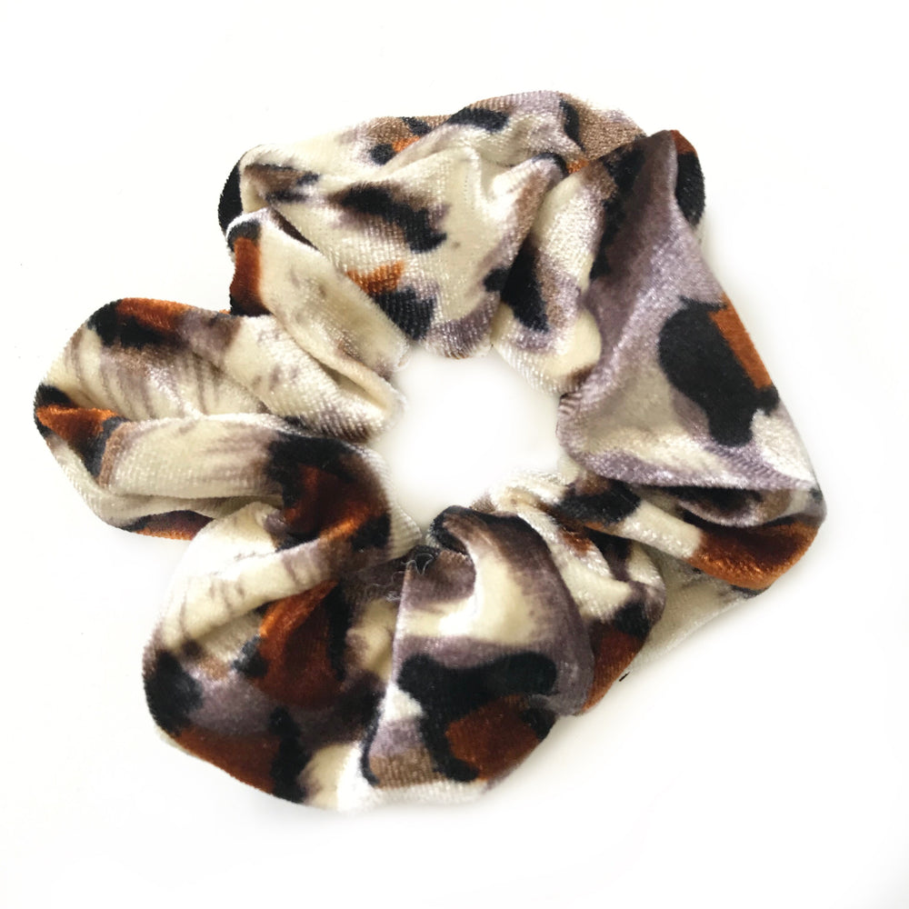 Leopard II - Animal Print Scrunchie