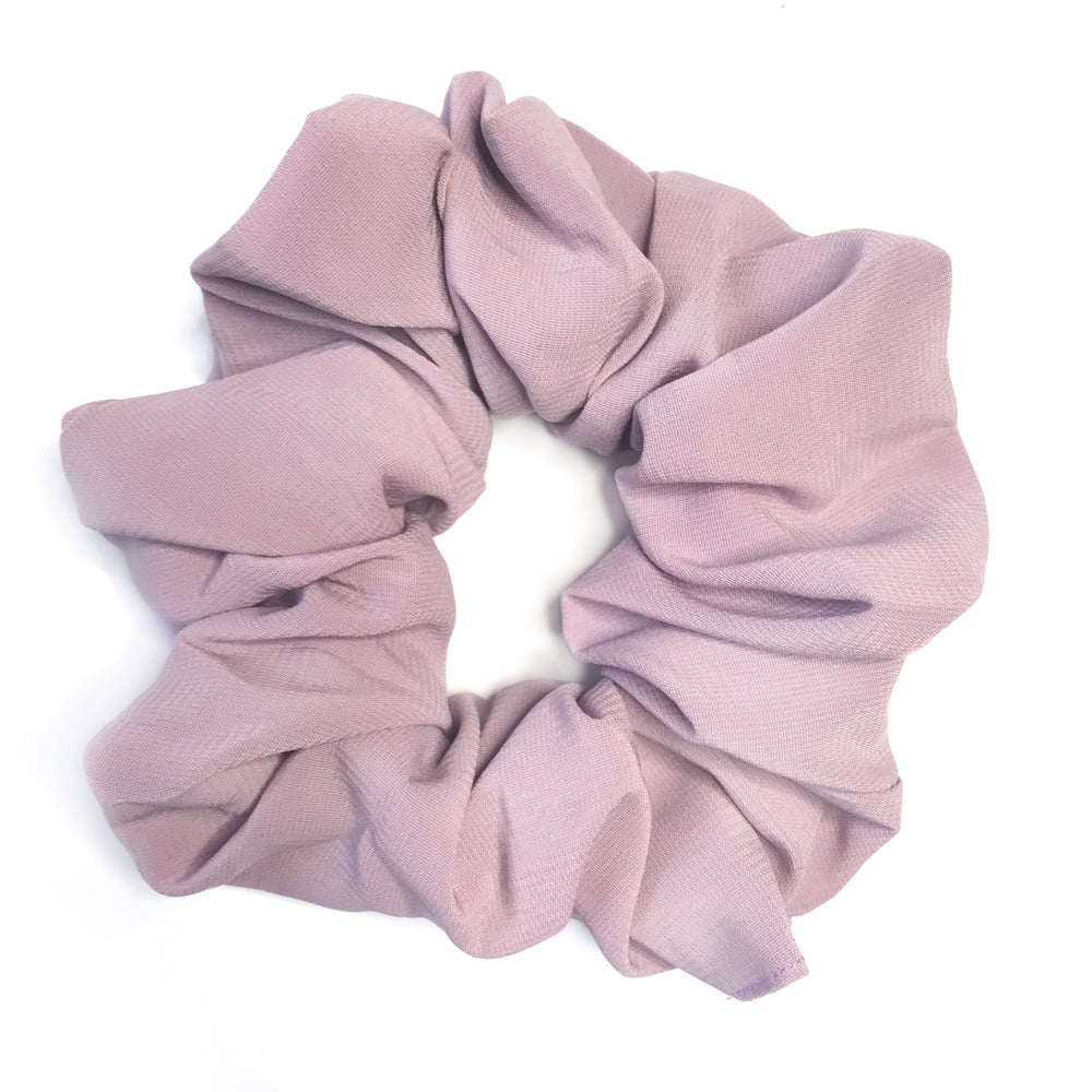 Lilac Purple - Chiffon Scrunchie