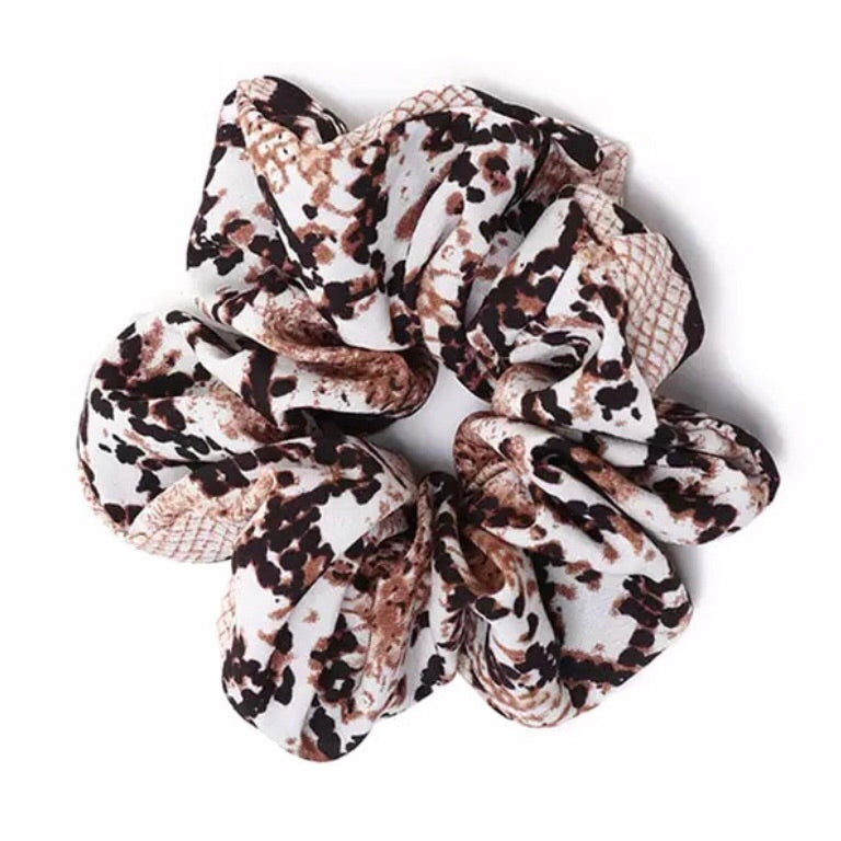 Snakeskin I - Animal Print Scrunchie