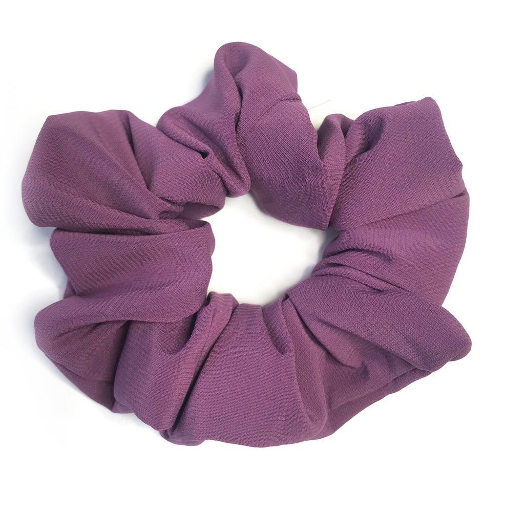 Lavender Purple - Chiffon Scrunchie