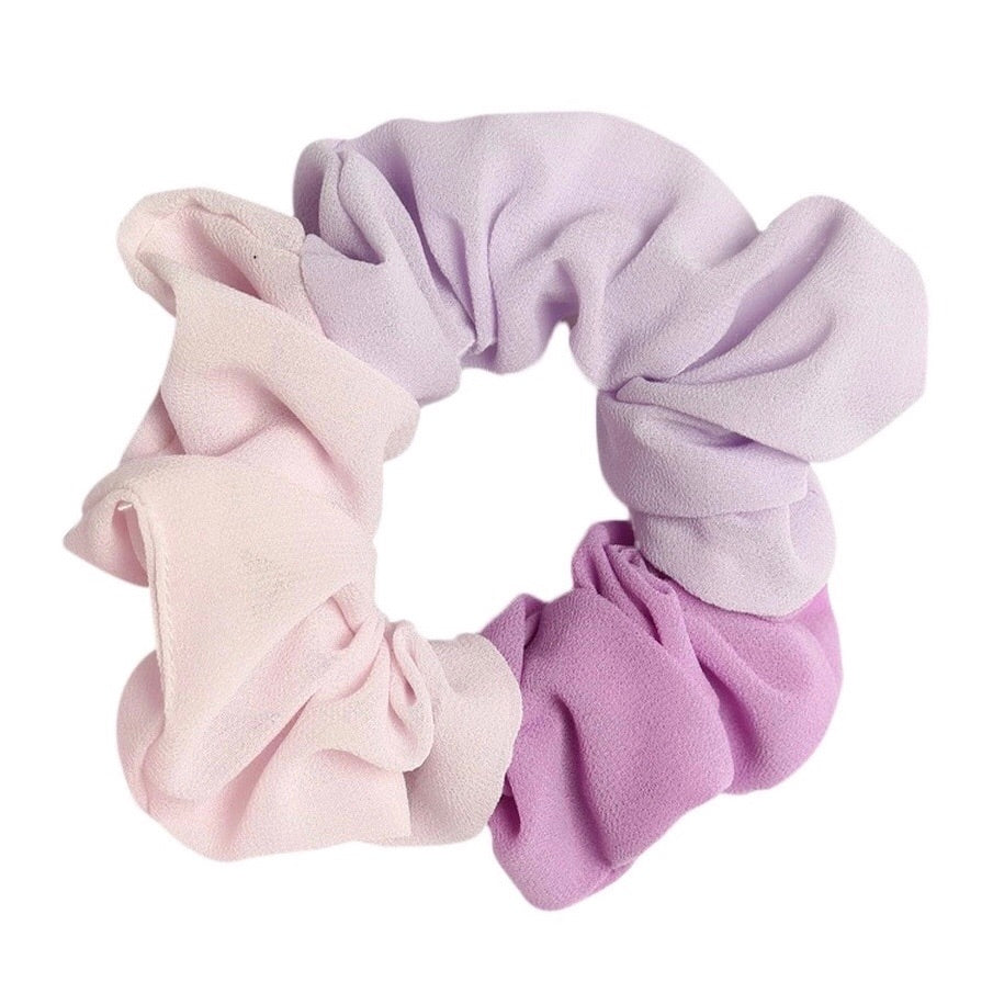 Purple - Pastel Trio Scrunchie