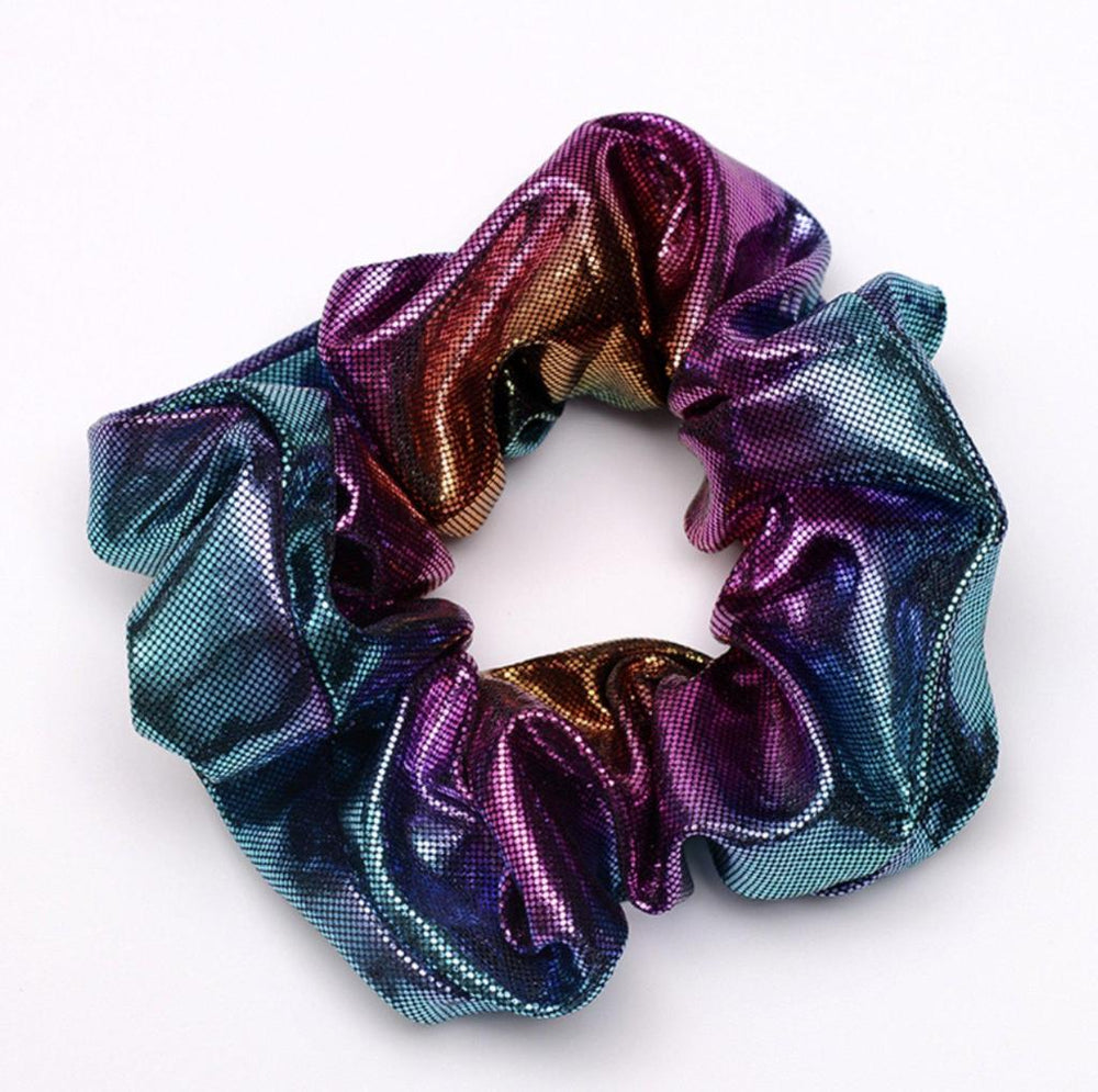 Teal - Galaxy Scrunchie