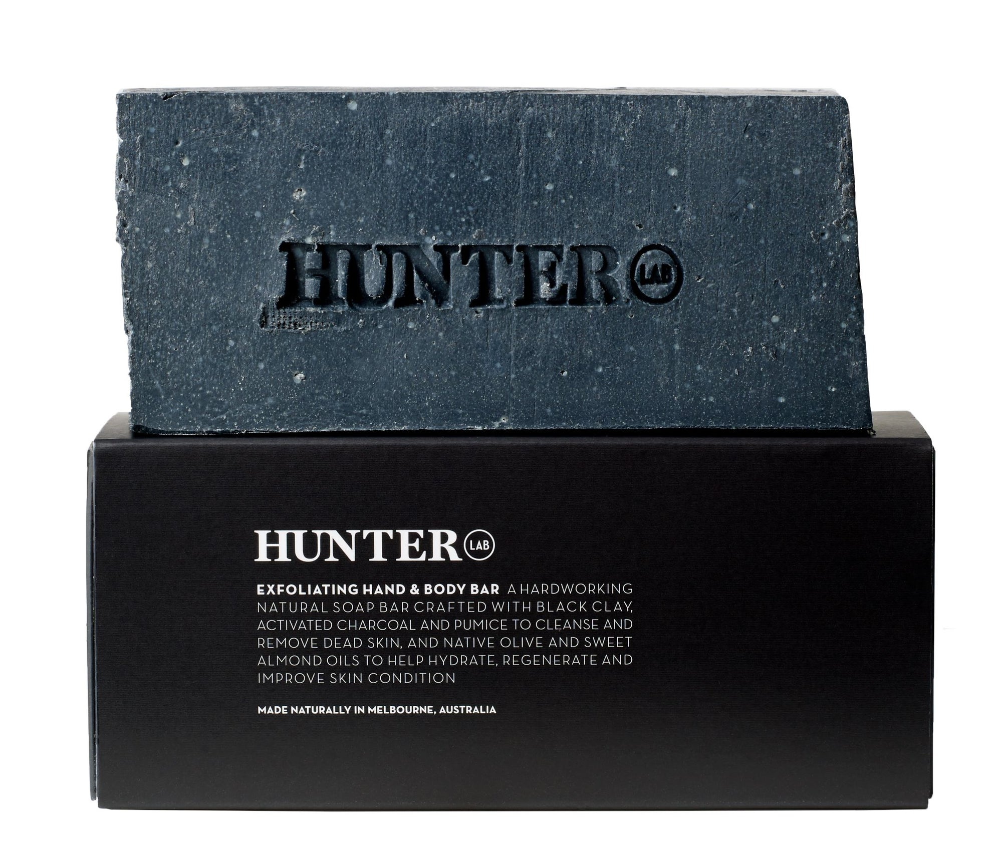 Exfoliating Hand and Body Bar by Hunter LAB 220g - Luna and Beau
