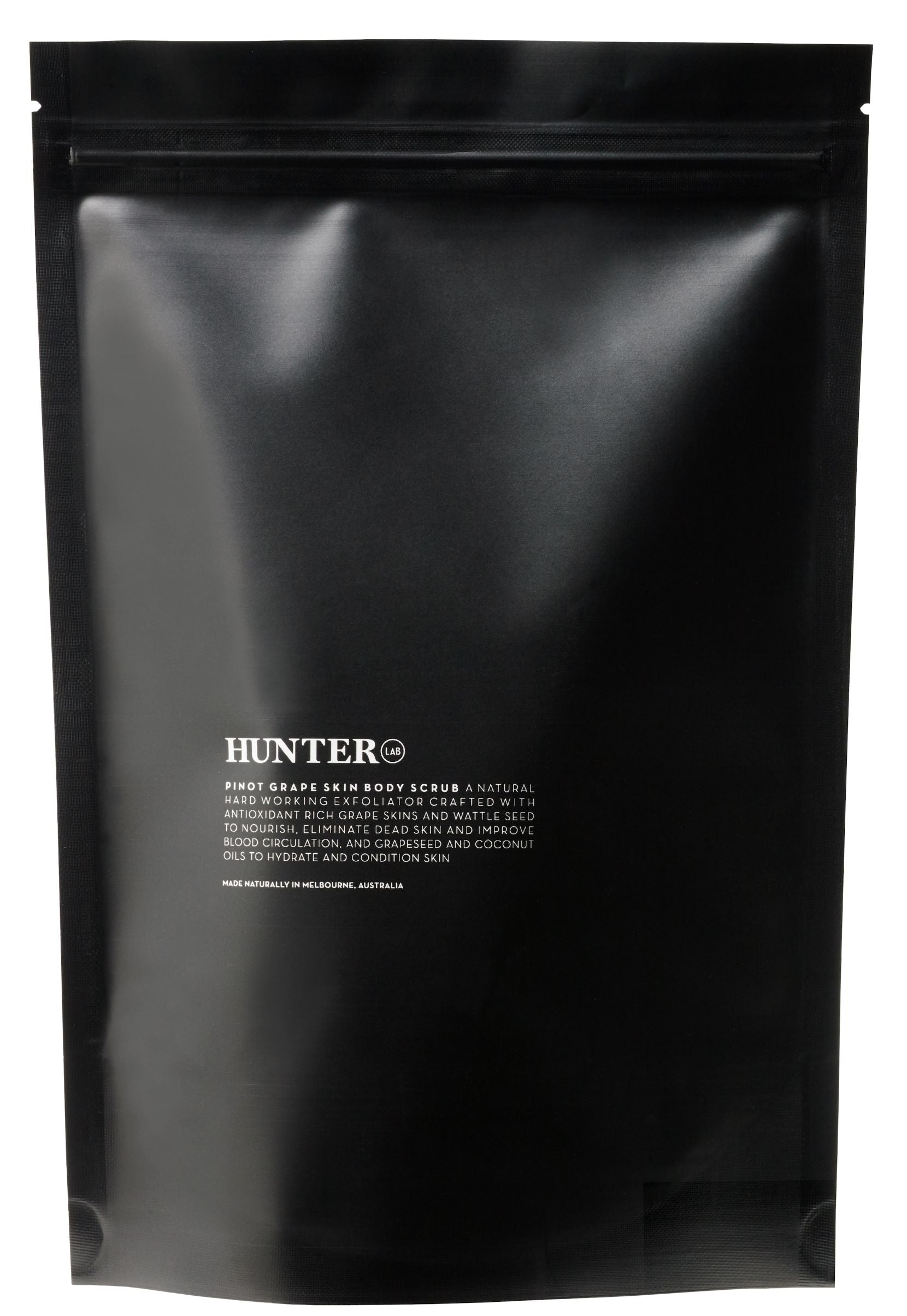 Pinot Grape Skin Body Scrub by Hunter Lab 200g - Luna and Beau