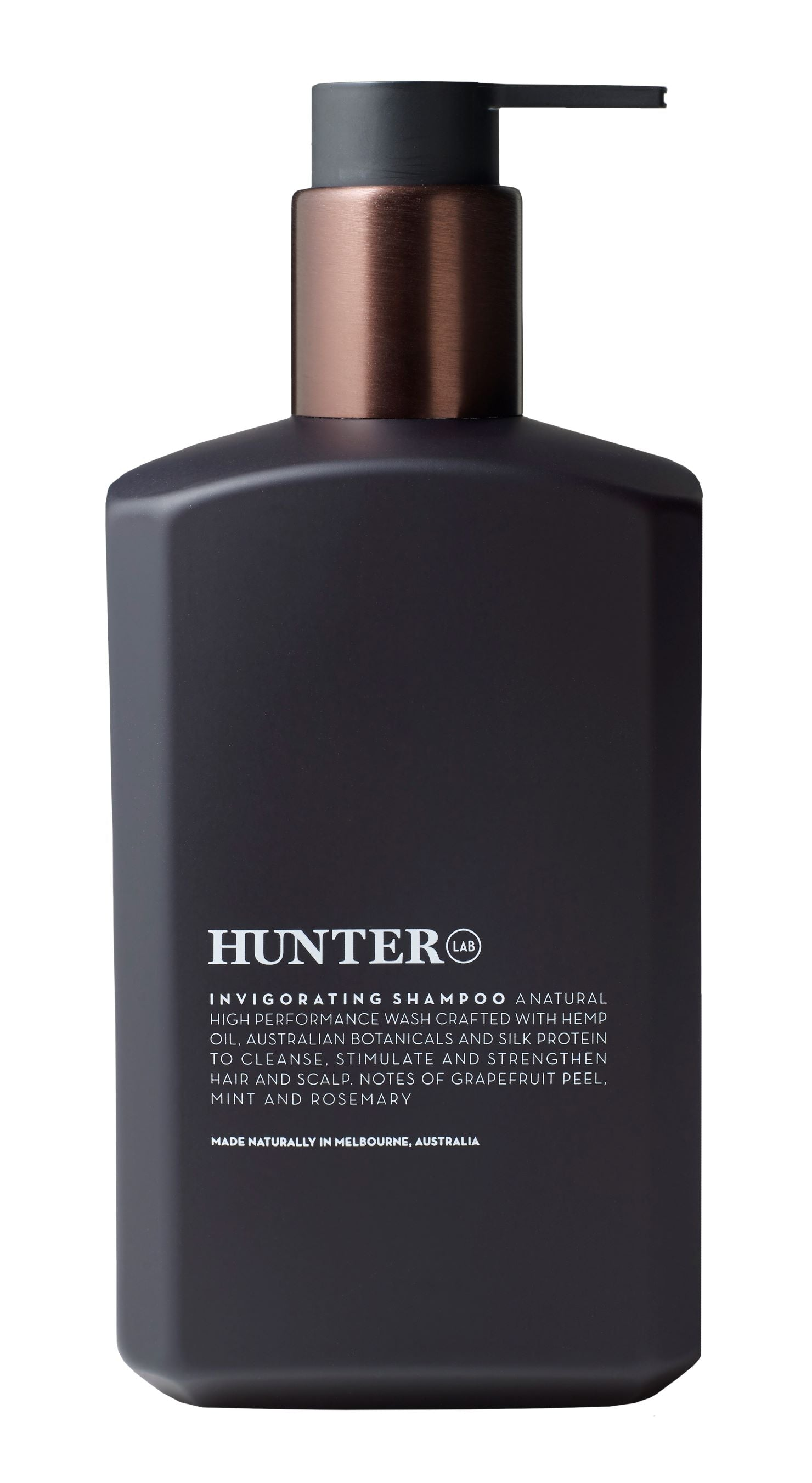 Invigorating Shampoo by Hunter Lab 550ml - Luna and Beau