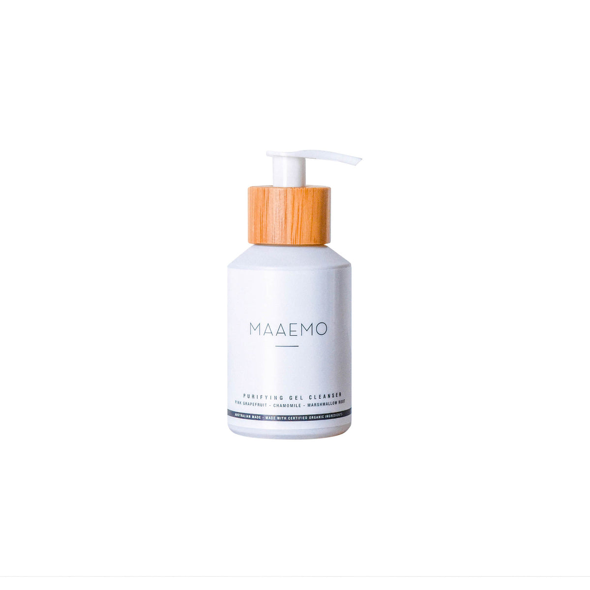 MAAEMO Purifying Gel Cleanser 100ml ACO CERTIFIED ORGANIC - Luna and Beau
