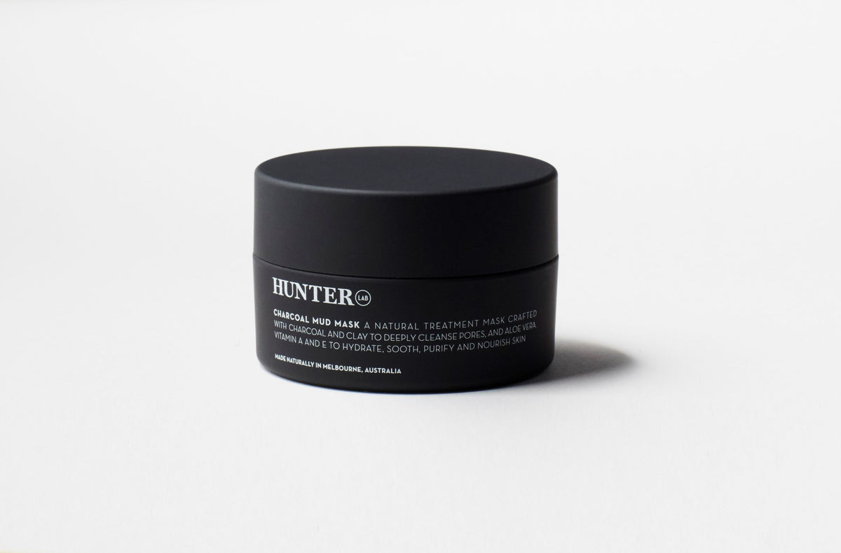 Charcoal Mud Mask by Hunter LAB 65g - Luna and Beau
