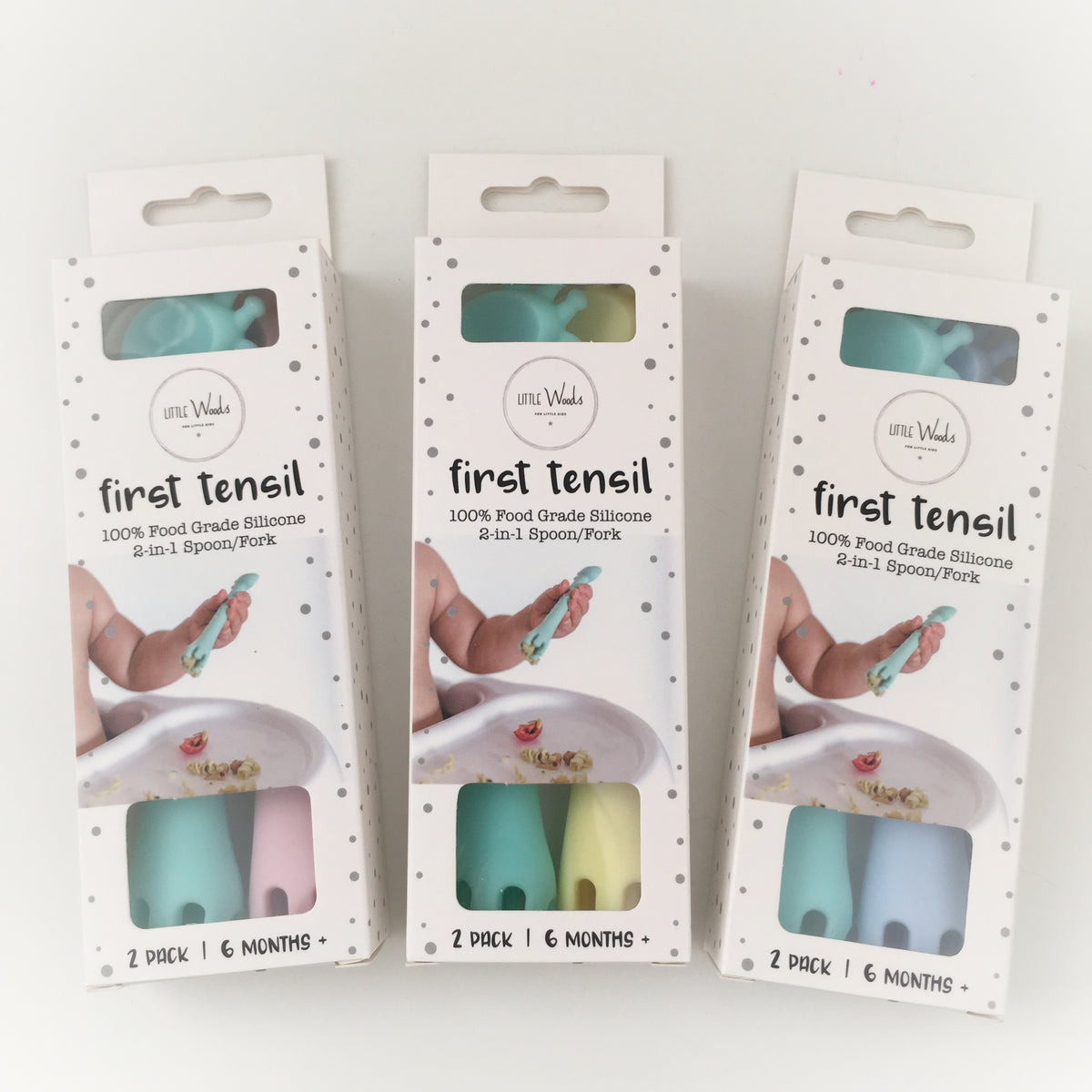 First Tensils by Little Woods (2 pack) - Luna and Beau
