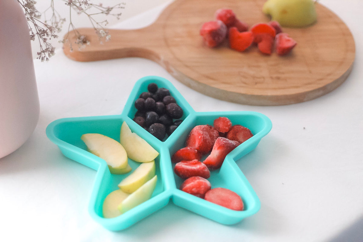 Star Grazer Silicone Divided Plates by Little Woods - Luna and Beau