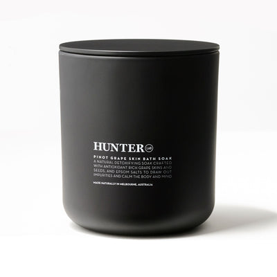 Pinot Grape Skin Bath Soak by Hunter LAB  450g - Luna and Beau