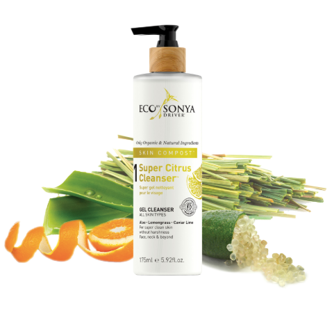 Super Citrus Cleanser 175ml Eco By Sonya Driver Skin Compost