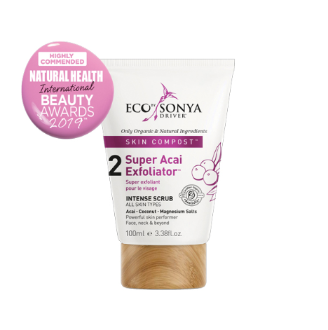 Super Acai Exfoliator 100ml Eco By Sonya Driver Skin Compost