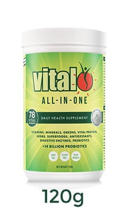 Vital Greens - Vital All in One Superfood Powder 120g