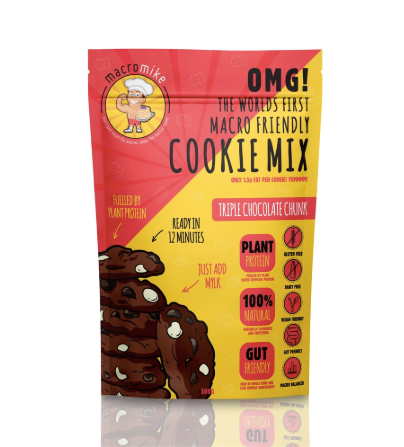 Macro Friendly Cookie Mix Triple Chocolate Chunk 300g by Macro Mike