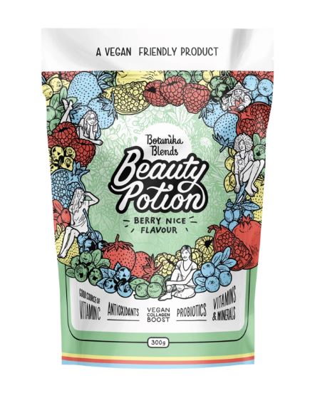 Beauty Potion Berry Nice Vegan Collagen Boost 300g by Botanika Blends