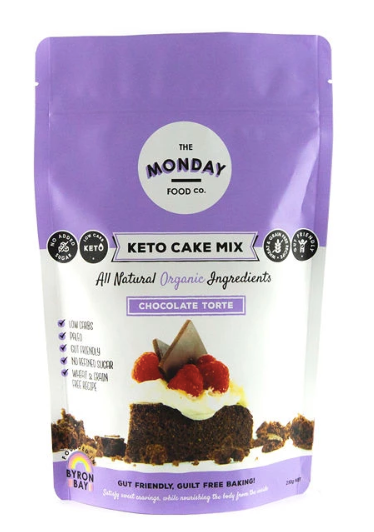 Keto Chocolate Torte Cake Mix 250g by The Monday Food Co.