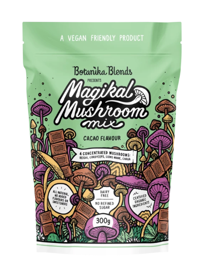 Magical Mushroom Mix Cacao Flavour 300g by Botanika Blends