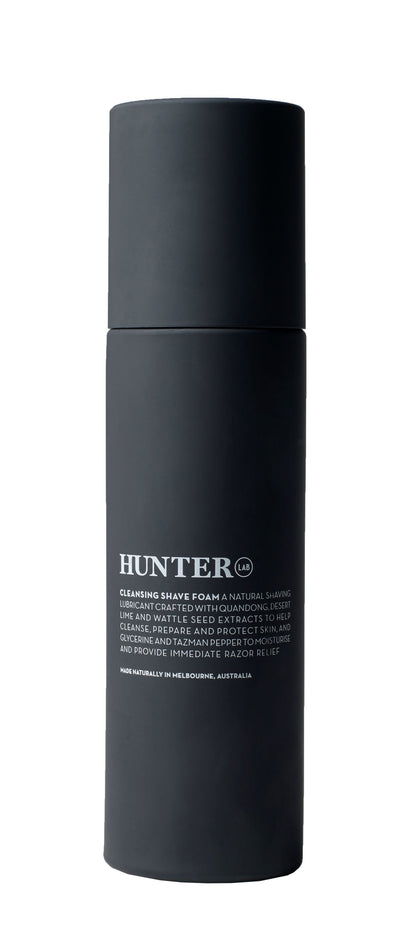 Cleansing Shave Foam by Hunter LAB 200ml - Luna and Beau