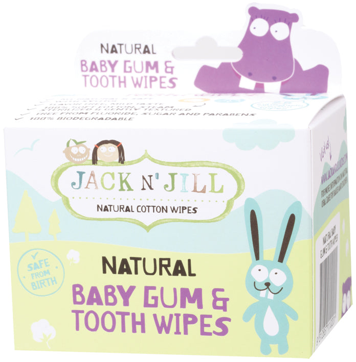 JACK N' JILL Gum & Tooth Wipes x25 - Luna and Beau