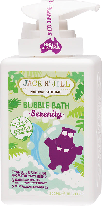 JACK N' JILL Bubble Bath Serenity 300ml - Luna and Beau