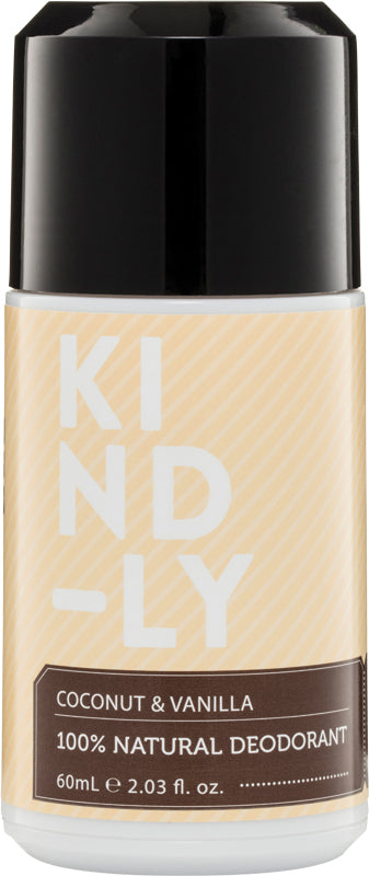 KIND-LY Deodorant Coconut & Vanilla 60ml - Luna and Beau