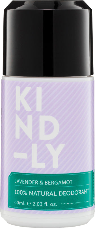 KIND-LY Deodorant Lavender & Bergamot 60ml - Luna and Beau
