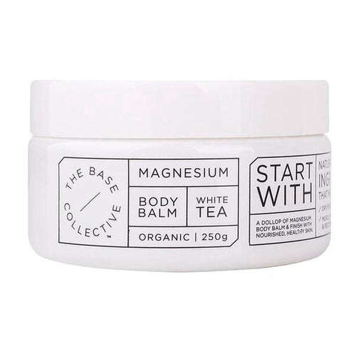 The Base Collective White Tea + Magnesium Body Balm (250g - Luna and Beau