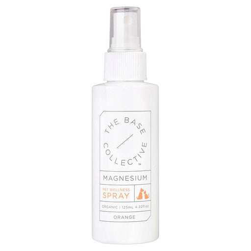 The Base Collective Pet Wellness Spray Magnesium + Orange 125ml - Luna and Beau