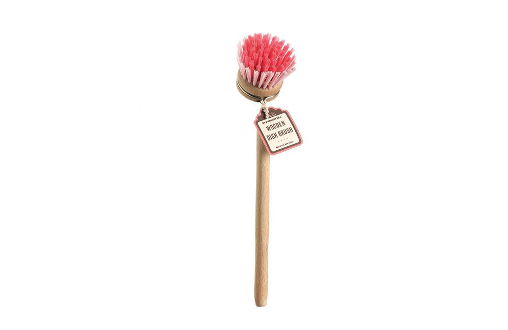 Timber Dish Brush By Retro Kitchen
