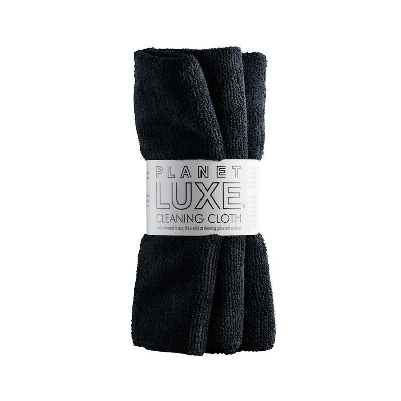 Cleaning Cloth by Planet Luxe Black 2 pack